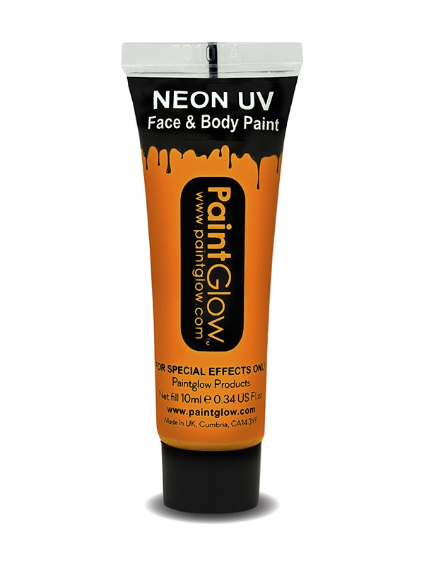 Oranje UV Face & Body Paint