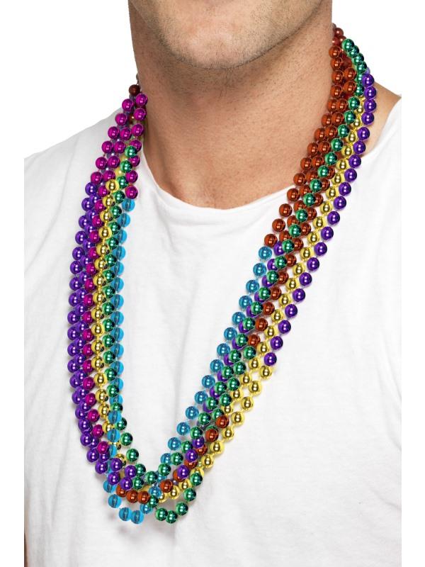 Gekleurde Kettingen Disco