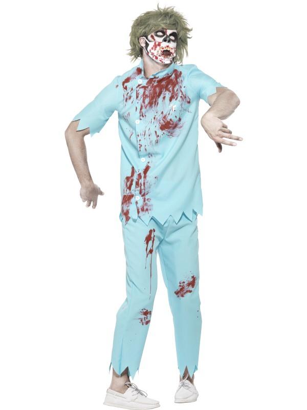 Zombie Tandarts Kostuum Halloween