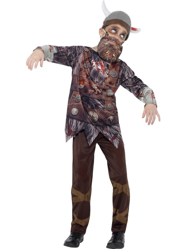 Deluxe Zombie Viking Kinder Halloween Kleding