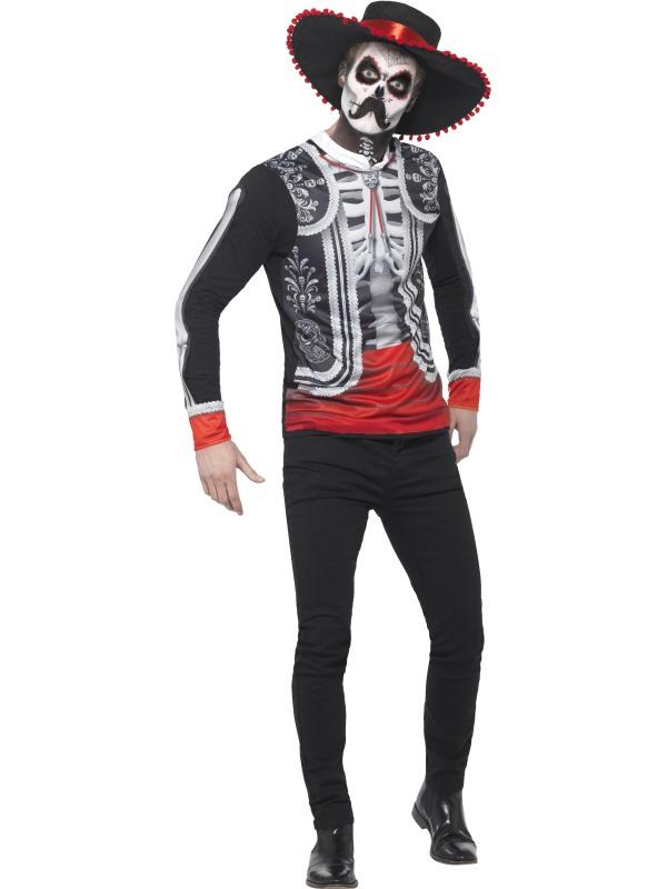 Day of the Dead El Senor Halloween Kostuum