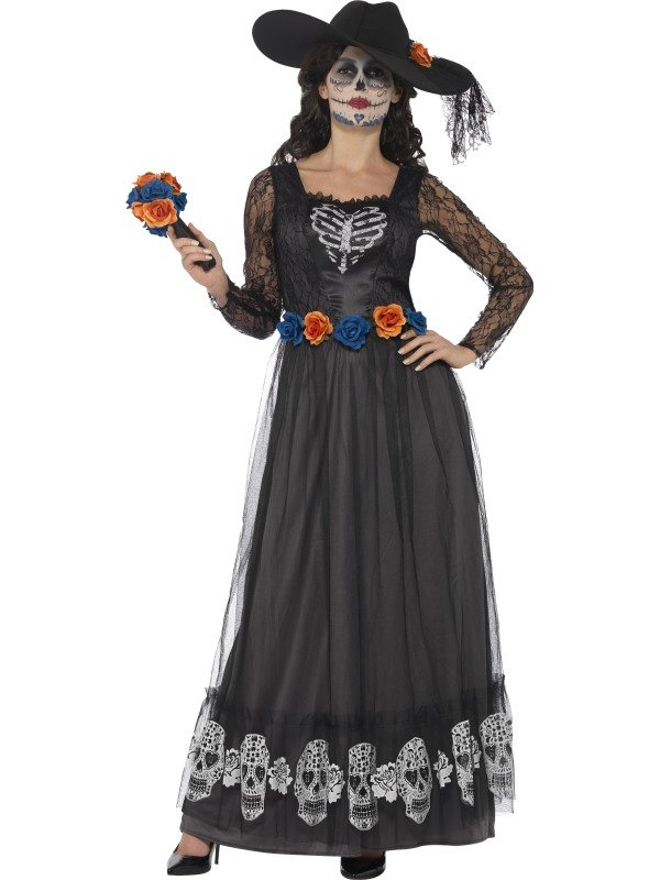 Day of the Dead Skeleton Bruid Verkleedkleding