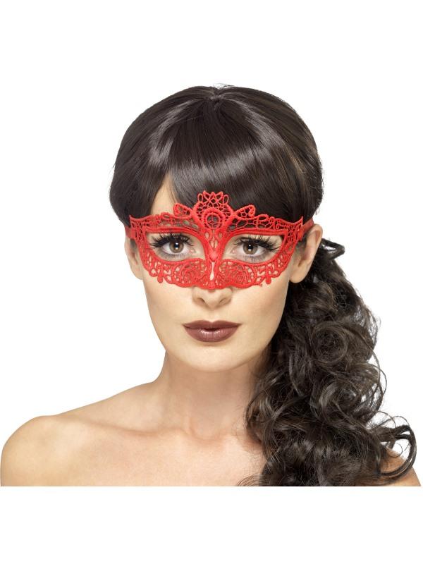 Rood Kanten Oogmasker