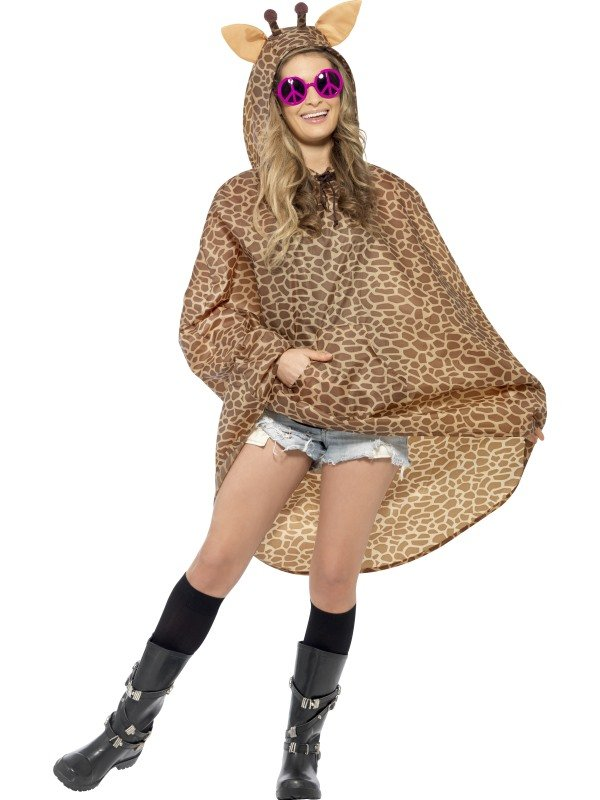Festival Giraffe Party Poncho