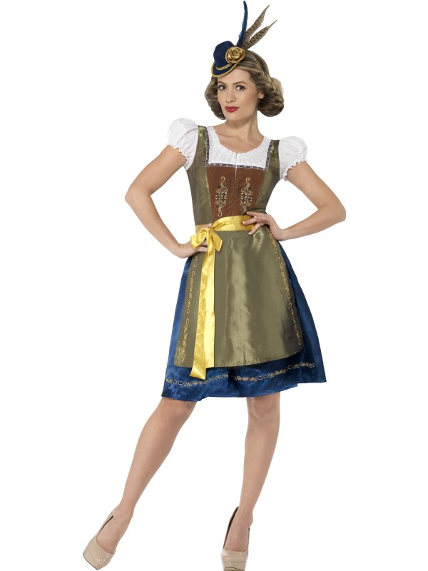 Traditional Deluxe Heidi Bavarian Kostuum