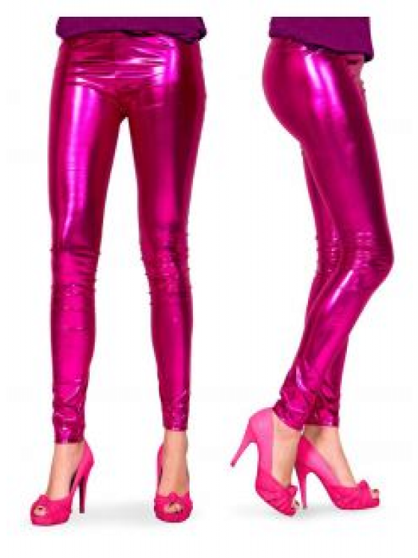 legging Metalic Roze