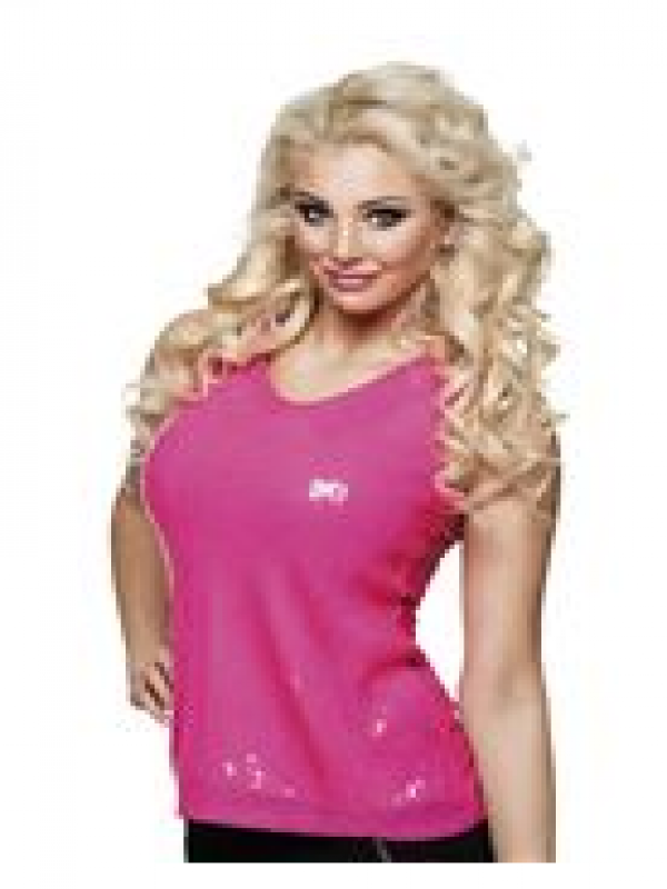 Top Sequins Roze