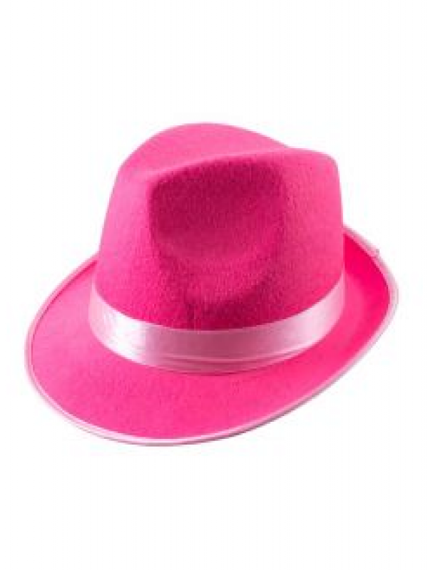 Trilby Hoed Pink