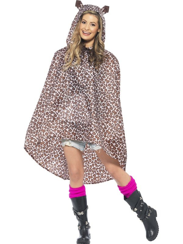 Festival Leopard Party Poncho