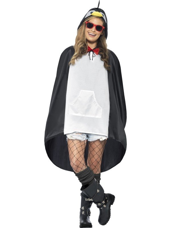 Festival Pinguin Party Poncho
