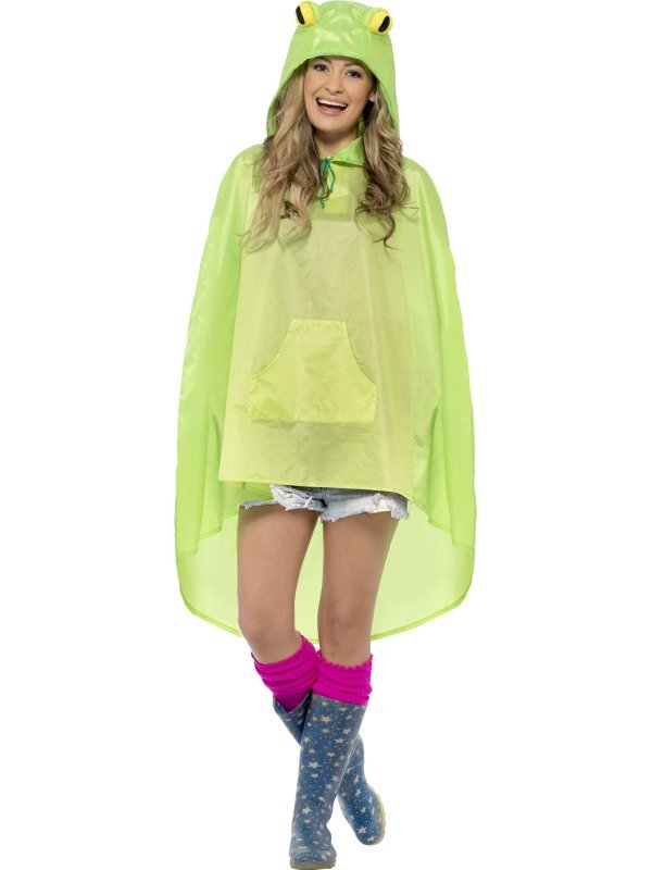 Festival Frog Party Poncho