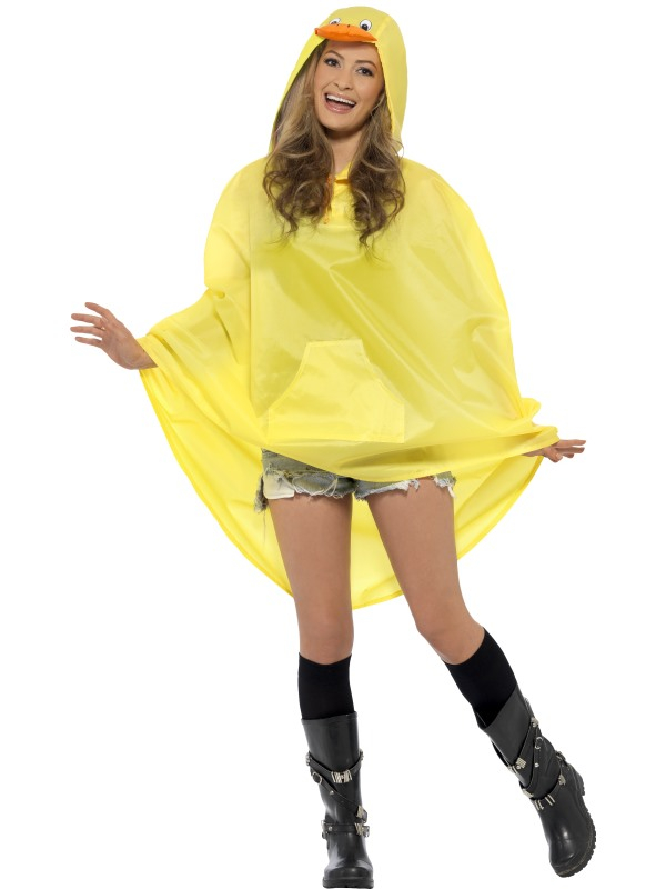 Festival Duck Party Poncho