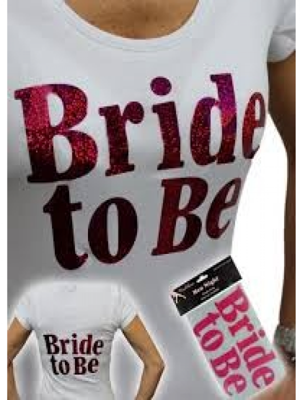 Strijklogo Bride to Be