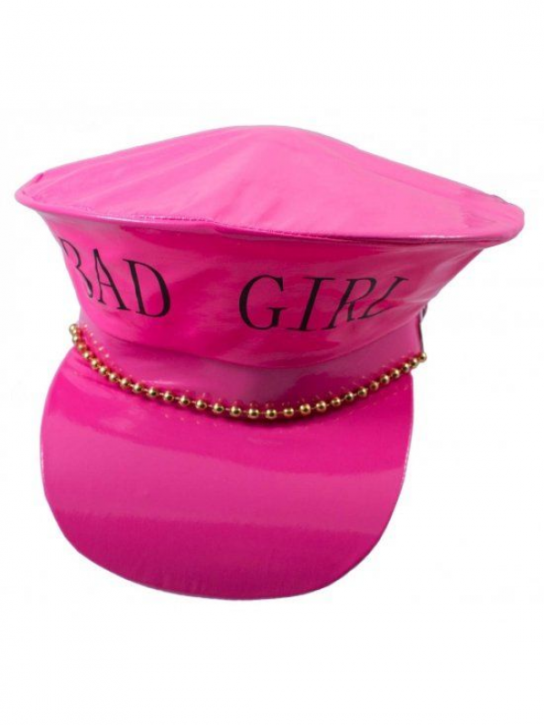 Roze Politiecap Bad Girl