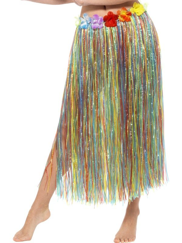 Hawaiian Hula Skirt Flowers Multi gekleurd