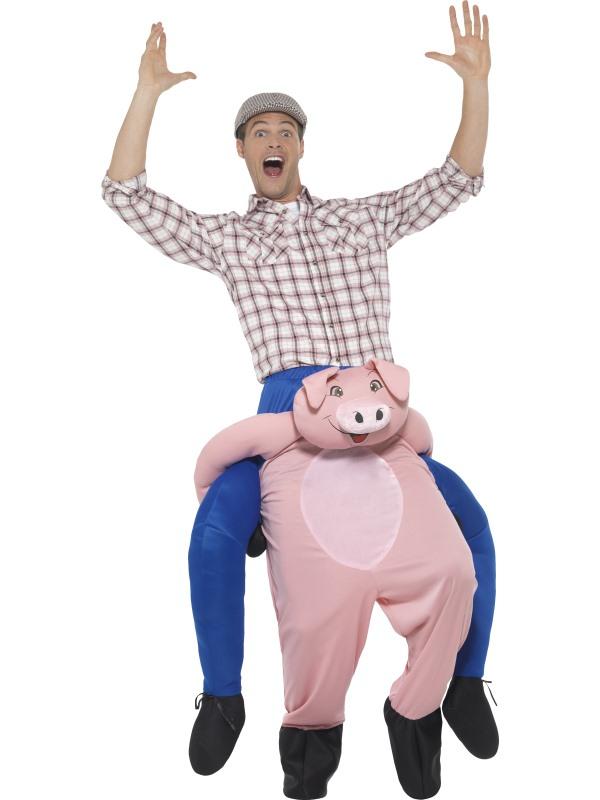 Piggyback Pig Kostuum