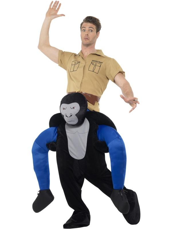 Piggyback Gorilla Kostuum