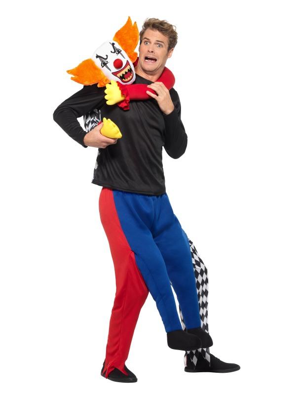 Piggyback Kidnap Clown Costume