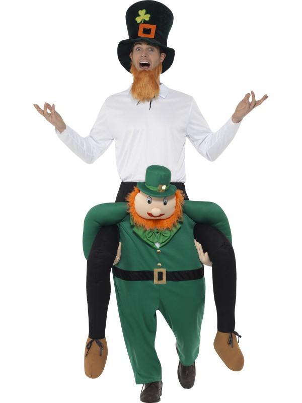 Piggyback Paddy's Leprechaun Kostuum