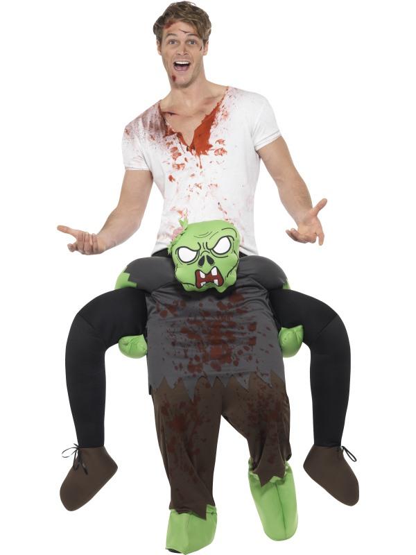 Piggyback Zombie Kostuum