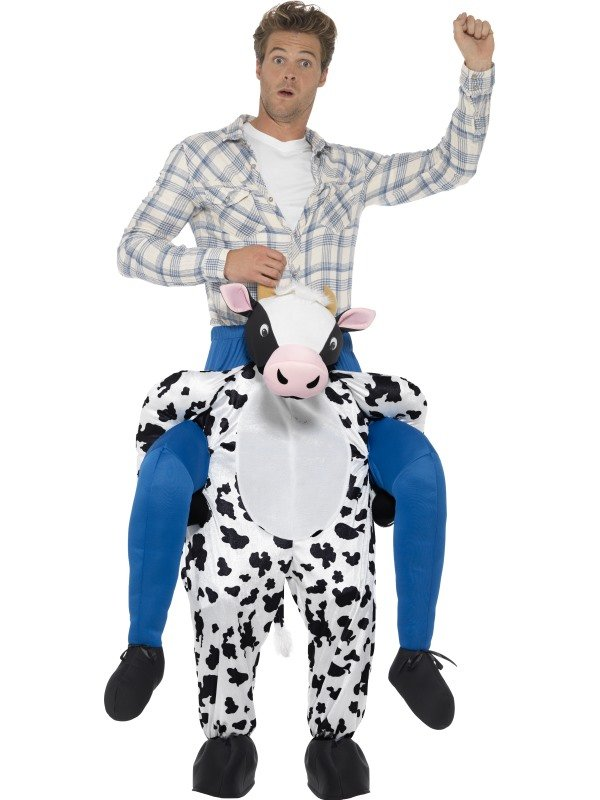 Piggyback Cow Kostuum