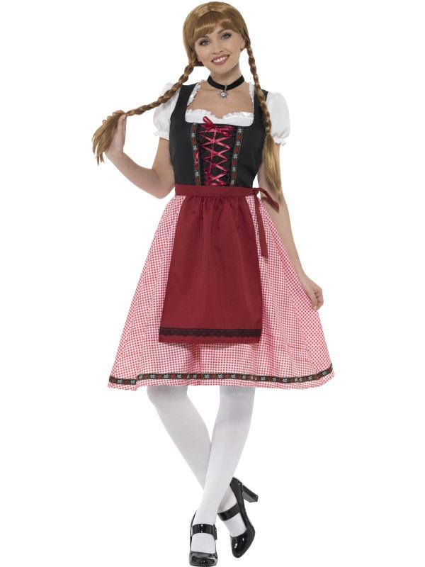 Bavarian Tavern Maid Kostuum