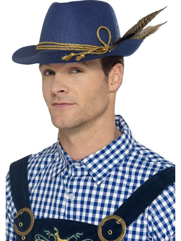 Authentic Bavarian Oktoberfest Hoed