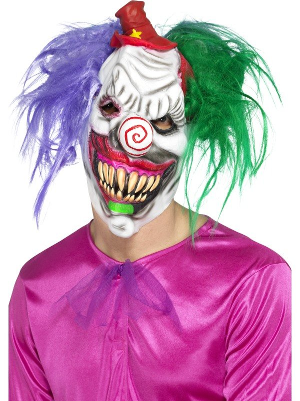 Colorful Killer Clown Masker
