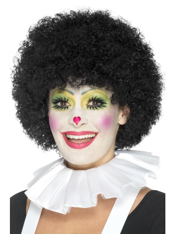Clown Nek Kraag Wit