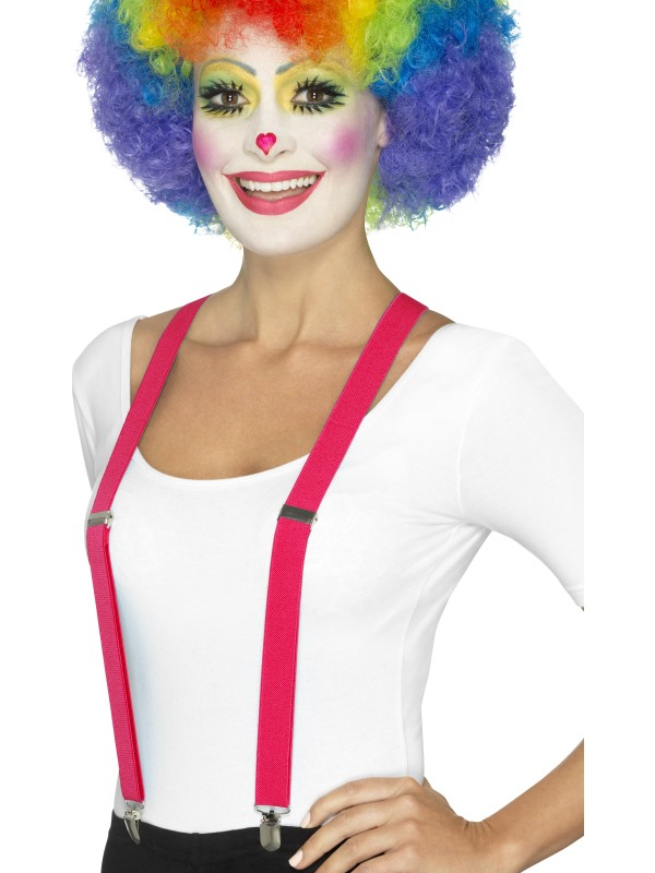 Clown Bretels Roze