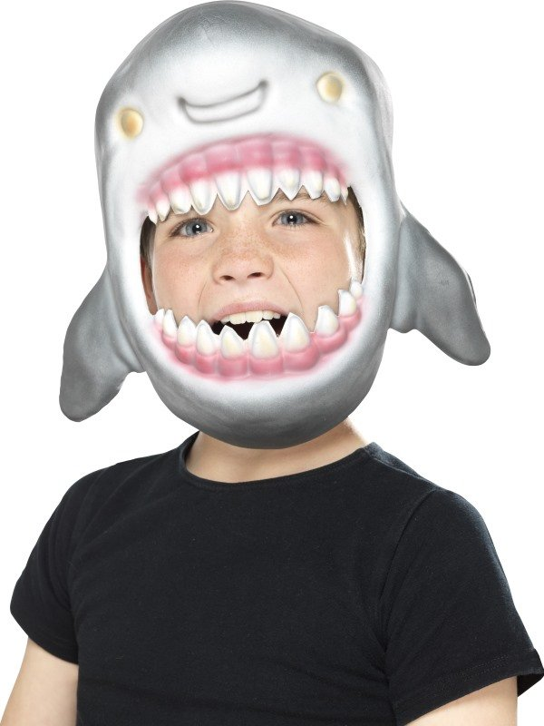Shark Full Head Mask Kids