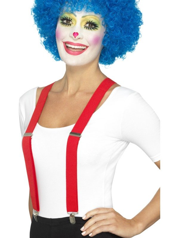 Clown Bretels Rood