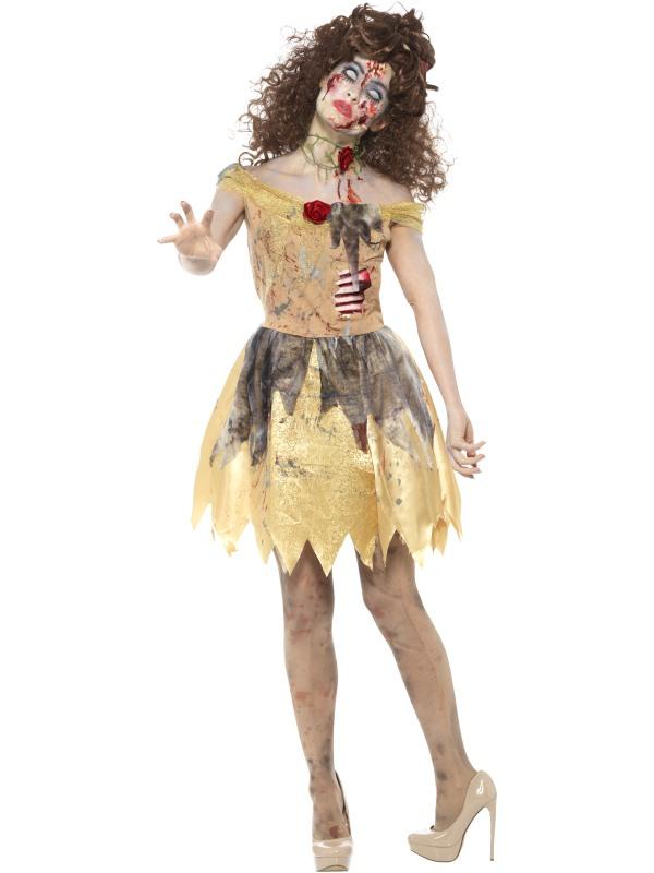 Zombie Golden Fairytale Kostuum