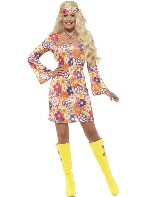 Flower Hippie Kostuum