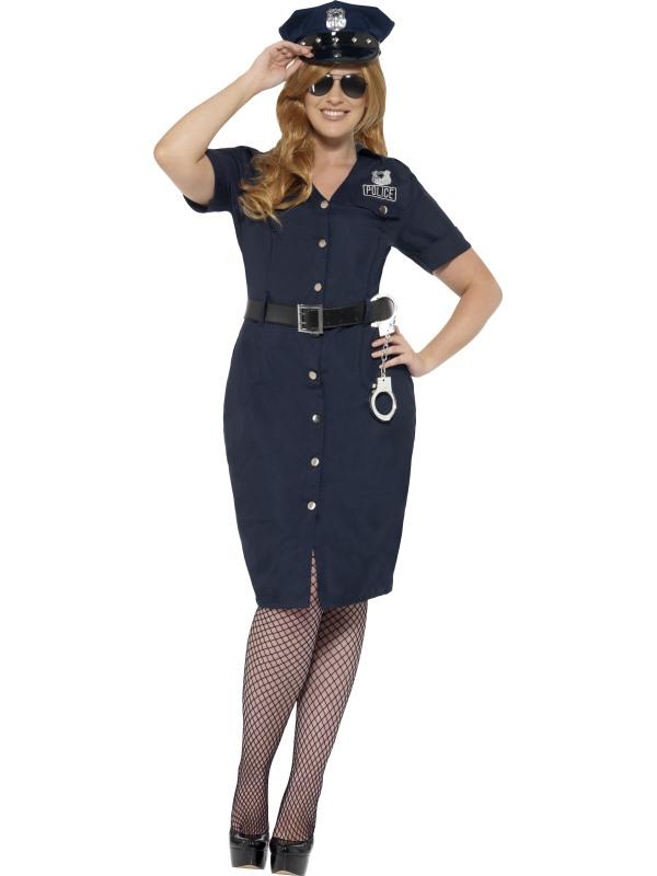 Curves NYC Cop Kostuum Dames