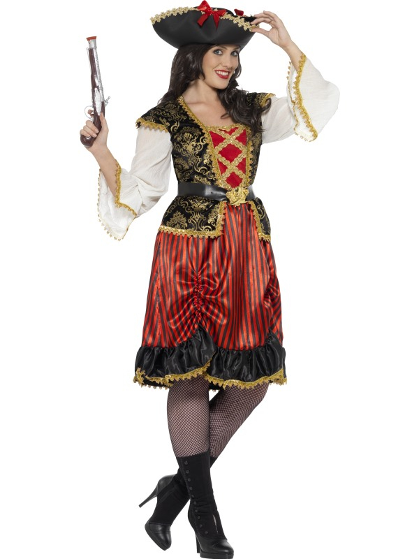 Curves Pirate Lady Costume