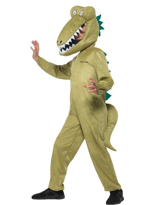 Roald Dahl Deluxe Enormous Crocodile Kostuum