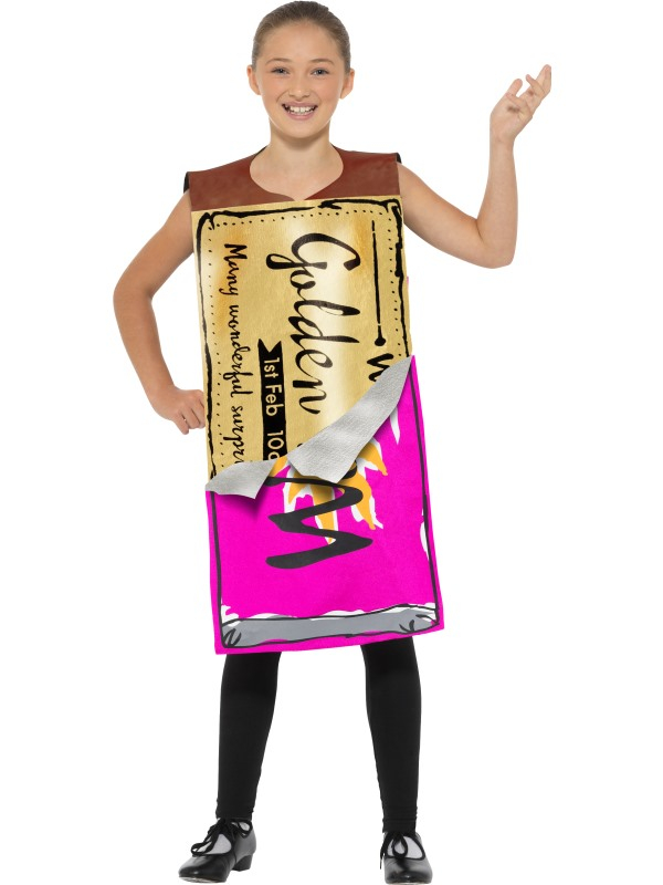 Roald Dahl Winning Wonka Bar Kostuum