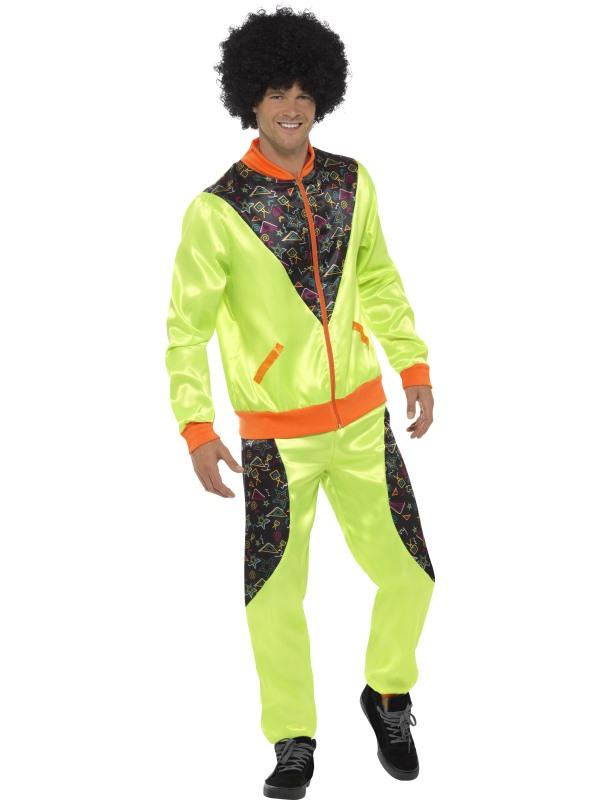 Retro Shell Suit Heren Kostuum