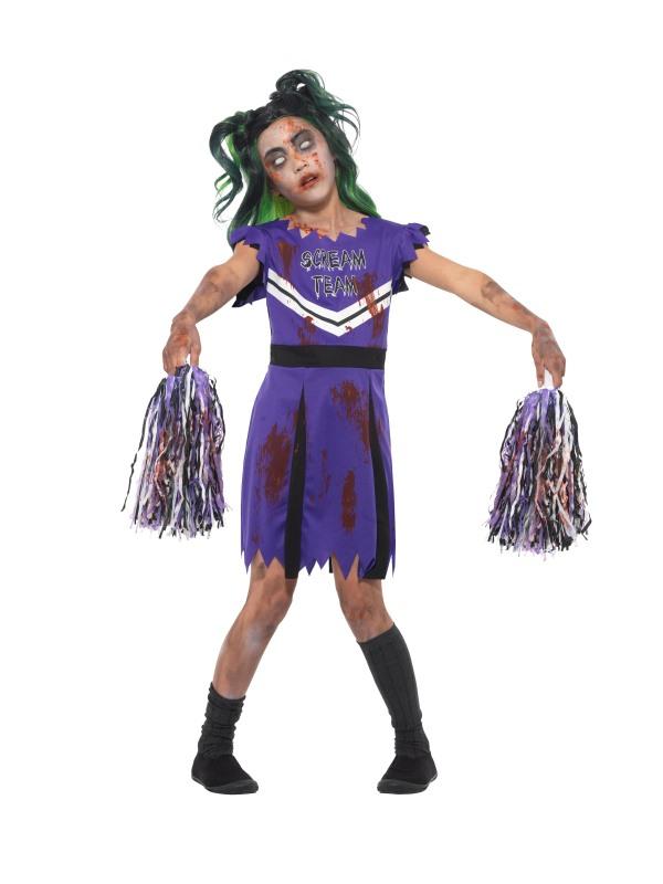 Dark Cheerleader Kostuum
