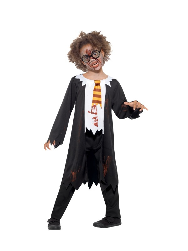 Zombie Student Kostuum