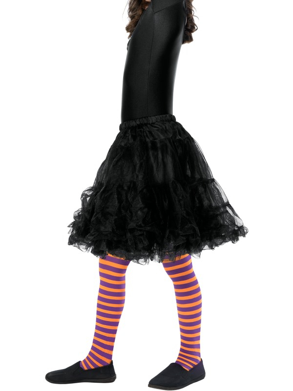 Wicked Witch Panty, Child Oranje/Paars