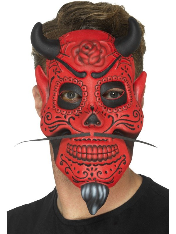 Day of the Dead Devil Duivel Masker