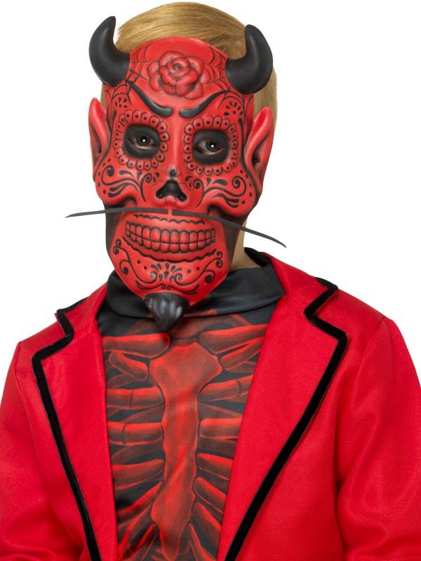 Day of the Dead Devil Mask, kids
