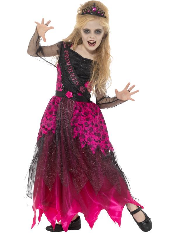 Deluxe Gothic Prom Queen Kostuum