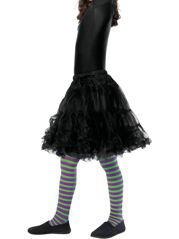 Wicked Witch Panty, Child Paars/Groen