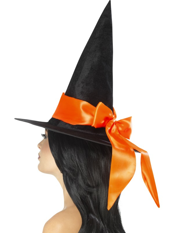 Deluxe Witch Hoed Oranje