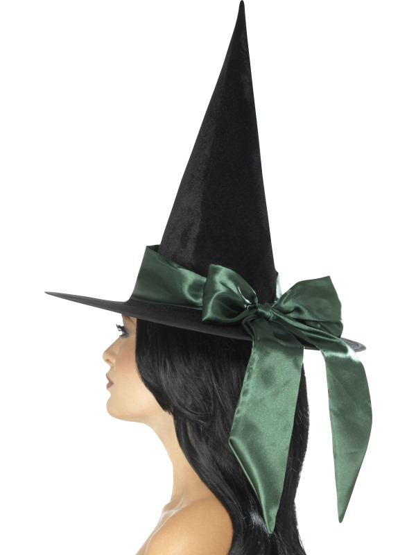 Deluxe Witch Hoed Groen