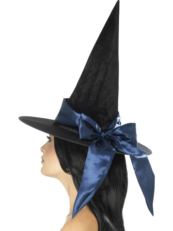 Deluxe Witch Hoed Blauw