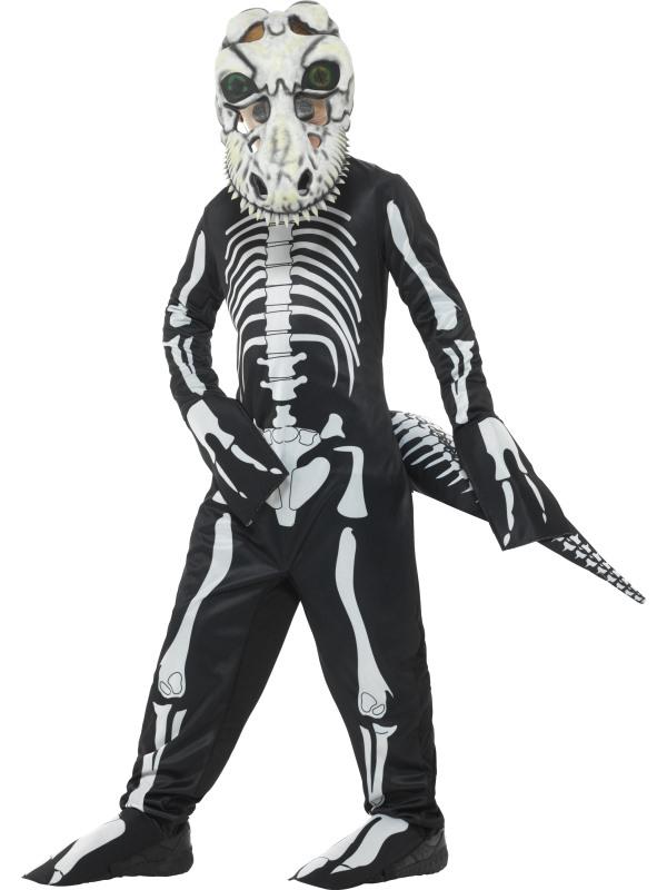 Deluxe T-Rex Skeleton Kostuum